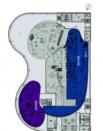 儿童探索博物馆A2-三层 带指南针(a)